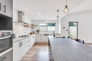 bright kitchen interior design